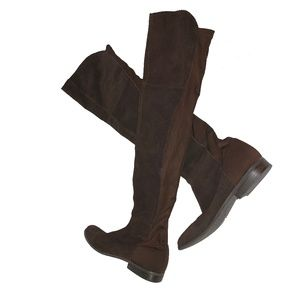 Chinese Laundry Suede Riding Boots Size 7.5